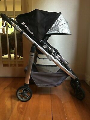 Pram Uppababy Alta stroller with bassinet - used, very good condition