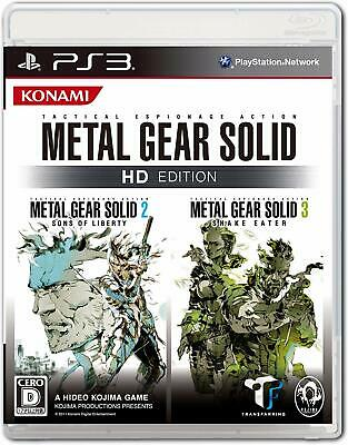 USED Metal Gear Solid HD Edition 60574 PS3 Play Station Japan Import