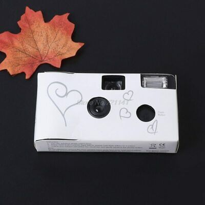 36 Photos Power Flash HD Single Use One Time Disposable Film Camera Party Gift E