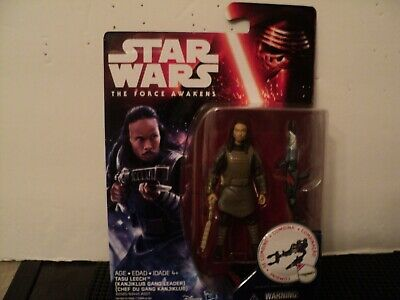 "Star Wars The Force Awakens Tasu Leech { Kanjiklub Gang Leader }  3.75"" Figure"