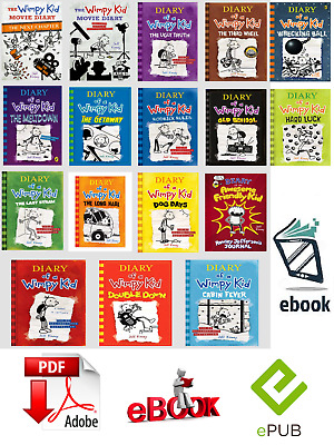 Diary Of A Wimpy Kid Collection 17 Books Set By Jeff Kinney 🔥{ ҽᗷOOK-P.'D'.F}🔥