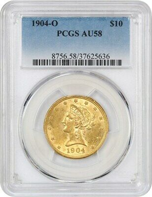 1904-O PCGS AU58 - Popular New Orleans Gold Eagle