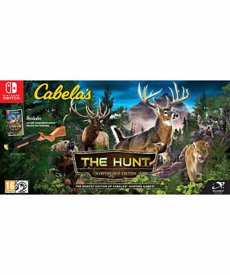 Cabela's: The Hunt - Championship Edition (Switch)  NEW AND SEALED - IN STOCK