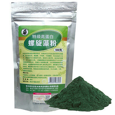 NEW SPIRULINA Flour Enrichment Favorite Food for Fish and Crystal Red ShrimpP №—