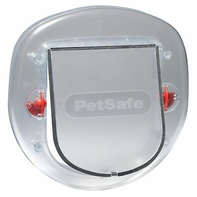@ PetSafe Staywell Big Cat/Small Dog Pet Flap Frosted Sliding & Glass Doors
