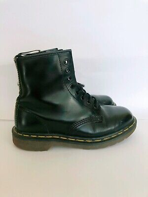 Dr. Martens 1460 Black UK 6 DM's Doc Doctor Boots Grunge 90s Leather Ankle