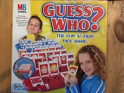 Hasbro Guess Who Guessing Game Kids 6+