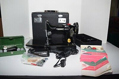 Vintage 1949 Singer Model 221 Featherweight Sewing Machine -100% Serviced