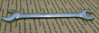 """Williams Snap-On Tools 1037B Wrench Open End Double Head 1-1/8"""" X 1-3/16"""""""
