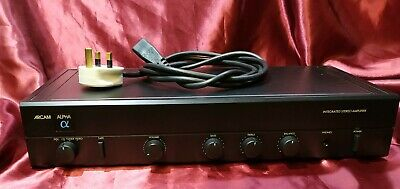 Arcam Alpha II integrated stereo amplifier + Phono Stage