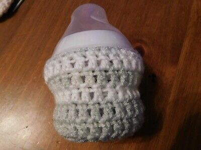 CROCHET BABY BOTTLE COVER HANDMADE TOMMEE TIPPEE 5oz 125ml