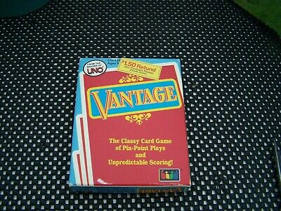 Vantage The Classy Card Game 1985 from the makers of UNO - Complete