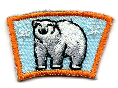 SAILBOAT SEGMENT Iron On Patch Small Scouts Boy Girl Cub Camping