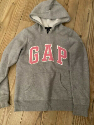 Gap Hoodie Hoody Grey And Pink Age 12 Years
