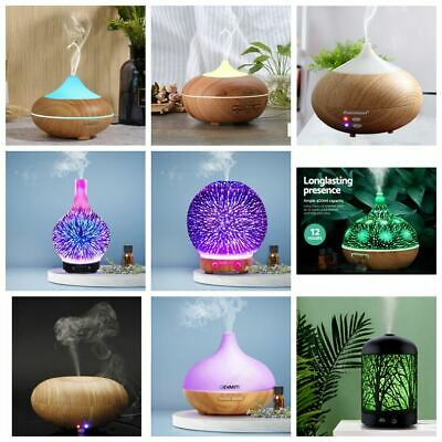 Essential Oil Aroma Diffuser LED Ultrasonic Humidifier Air Mist Aromatherapy