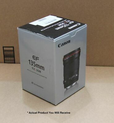 Canon 135mm Fast F/2 L-Series USM Prime Telephoto Lens - EF Mount - Ex Demo