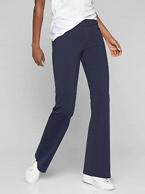 Athleta Bettona Classic Pant, NAVY SIZE M                          -819227 T0121