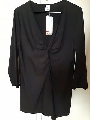 Maternity top size 10 - Black.  New With Tag.
