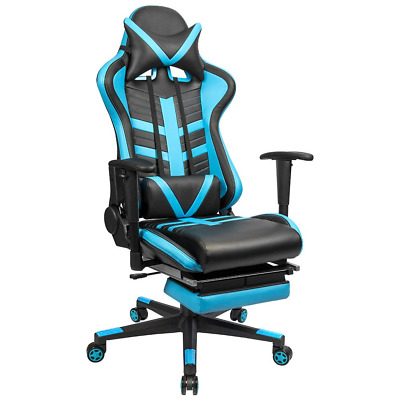 Homall Ergonomic High-Back Racing Chair Pu Leather Bucket Seat,Computer Swivel