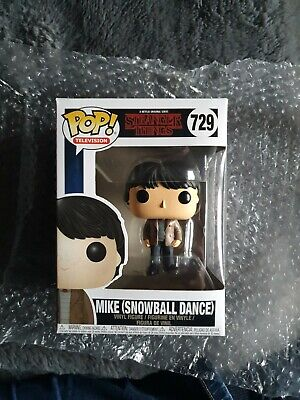 Funko Pop Vinyl Stranger Things Mike (Snowball Dance) #729 BNIB