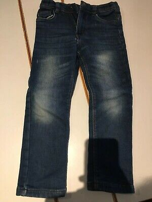 Boys Jeans 4-5y Denim Soft Trousers Blue Stretch Urban Rascals