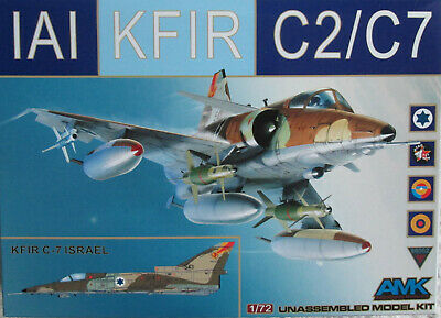 Avant Garde (AMK) 1/72 86002 IAI Kfir C2/C7  Model kit