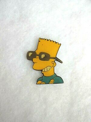 BART SIMPSON - The Simpsons - Sunglasses - PIN BADGE
