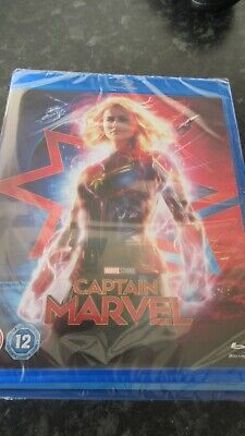 Captain Marvel Blu-Ray Brand New Rated 12