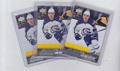 2015/16  Upper Deck Series 1 Young Guns Nicolas Petan  Lot Of 3 #227 Leafs