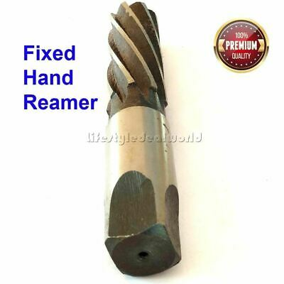 (18MM) Fixed Hand Reamer, Spiral Flute,Uncoated
