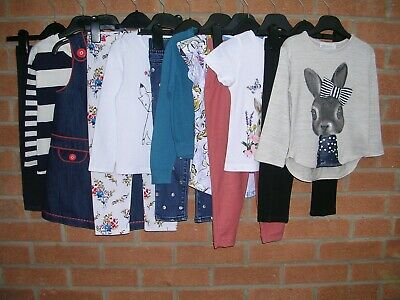 NEXT H&M GAP etc Girls Bundle Pinafore Dress Tops Jeans Leggings Age 2-3 98cm