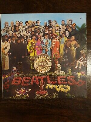 BEATLES, Sgt Peppers Lonely Hearts Club Band Album, Original 1967