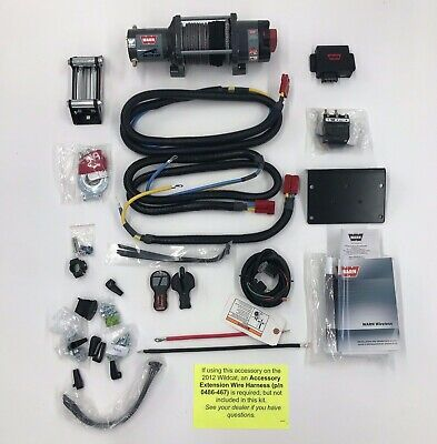 Arctic Cat WARN 4000lb winch kit - 1436-755