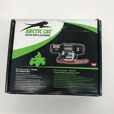 Arctic Cat WARN 3000-lb ProVantage Winch Kit -  2436-097