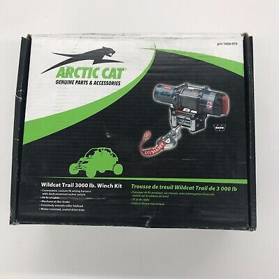 Arctic Cat WARN 3000-lb winch kit 1436-970