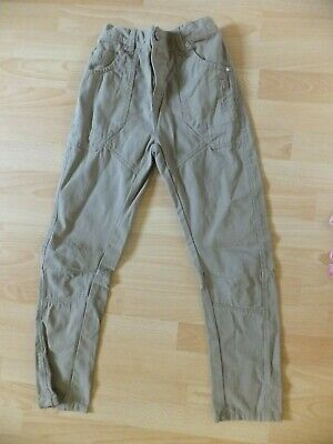 Boys light brown/stone smart trousers.  Age 10 years.