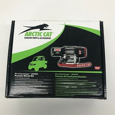 Arctic Cat WARN 3000-lb ProVantage Winch Kit - 2436-363