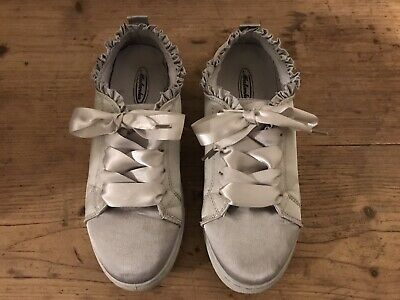 Girls Party shoes Silver Size 37
