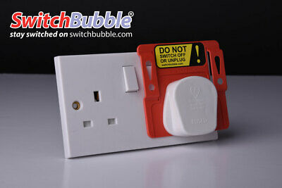 Stop plugs and sockets being turned off by those little fingers! Switch guards