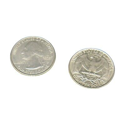 Double Sided Quarters - Both Heads and Tails by Magic Geek, Inc.