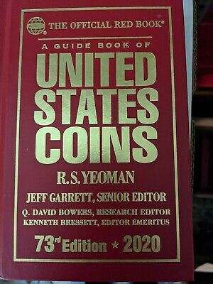 New 2020 Official Red Book Guide US Coins Price List Hardcover Whitman Catalog