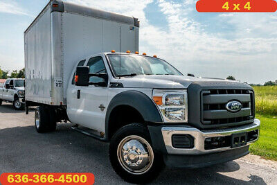 2013 Ford F550 xl Used 4wd 12 foot box liftgate 6.7 powerstroke diesel extended