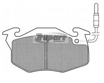 QH 425032 425043 New PEUGEOT 205 1.7D Brake Pads Set Front 94 to 97 161A XUD7