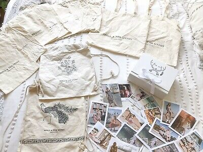 Spell Calico Bags, Box And Cards