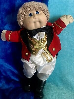 Vintage CLOSE TO NEW Coleco Doll Boy Ringmaster Circus FULLY DRESSED