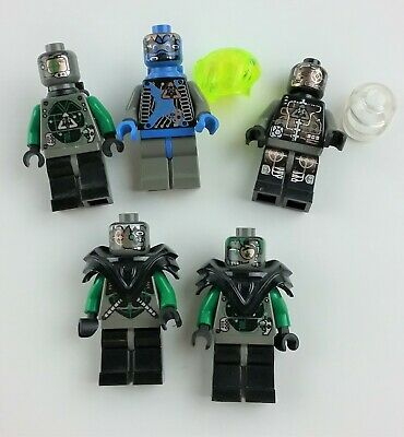 Lego Space sp027- Trans Green Helmet Vintage Insectoids Minifigure HTF