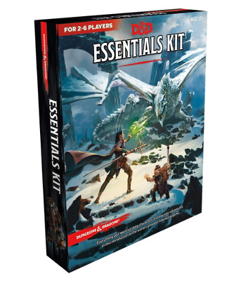 Dungeons & Dragons Essentials Kit (D&D Boxed Set) Game September 3, 2019 NEW