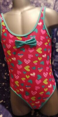 Lovely Girls Young Dimensions Multi Fashion Swimming Costume Age 5-6 yrs
