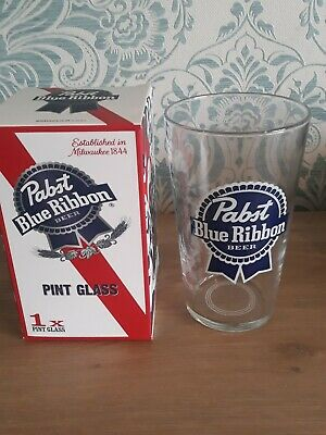 Pabst Pint Beer Glass *Boxed Brand New*