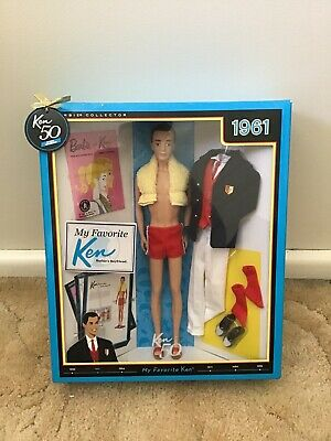 My Favorite Ken 2011 Barbie Doll 50th Anniversary 1961 Reproduction